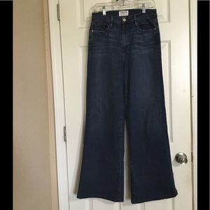 Frame high rise wide leg jeans Sz.30 $55